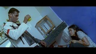 Robo put acid on Meena in Lab | Rakesh | Poorna | Josh Kannada Movie Scenes