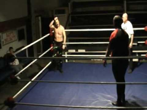 Doomsday vs Tommy Gage at DCW Benefit Show