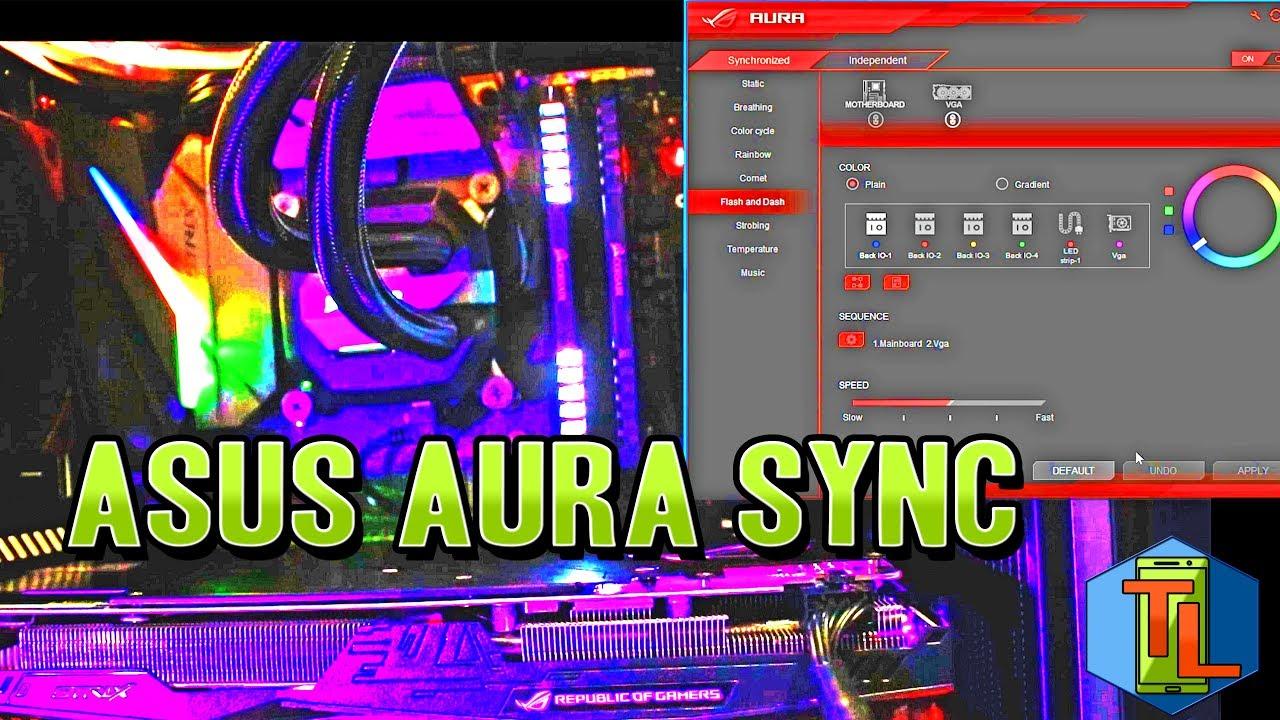 ASUS Aura Sync - Como funciona? Programacion de luces RGB