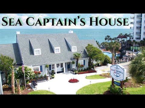 Historic Oceanfront Sea Captain's House Restaurant - Myrtle Beach, SC