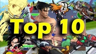 Top 10 psp fighting game with gameplay