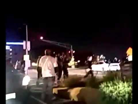 "FERGUSON: WATCH AS THE ""PEACEFUL"" PROTESTERS ATTACK A WHITE KID"