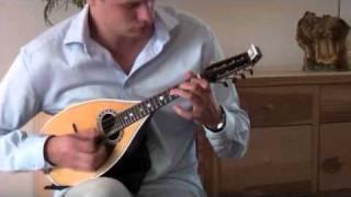 RAFFAELE CALACE - PRELUDIO No.II for Mandolin solo performed by SEBASTIAAN DE GREBBER