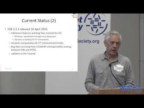 Interplanetary Overlay Network (ION): What's New - Scott Burleigh