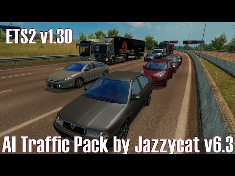 ETS2 v1 30 I Mod ☆ AI Traffic Pack by Jazzycat v6 3