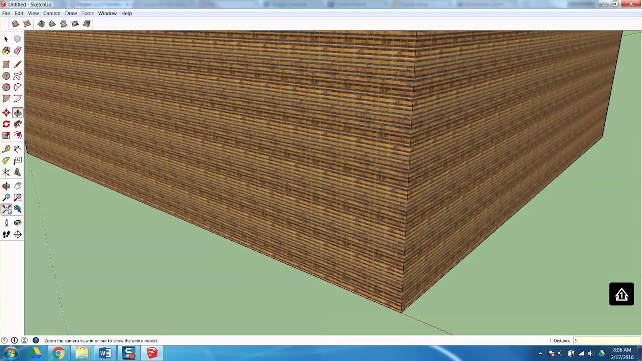 Project 123 Furniture Design SketchUp Tutorial YouTube