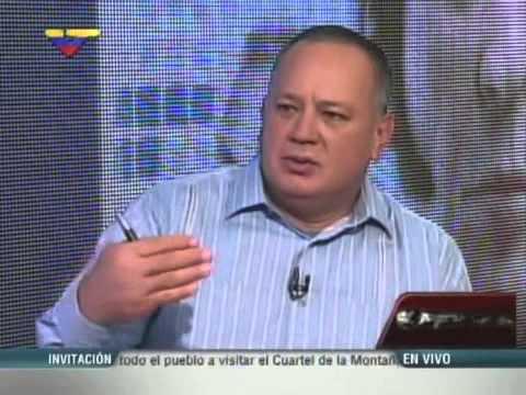 """Diosdado Cabello entrevista a Miguel Rodríguez Torres en """"Con el Mazo Dando"""""""