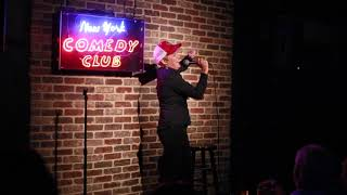 We Share A Void at New York Comedy Club 9 12 2018