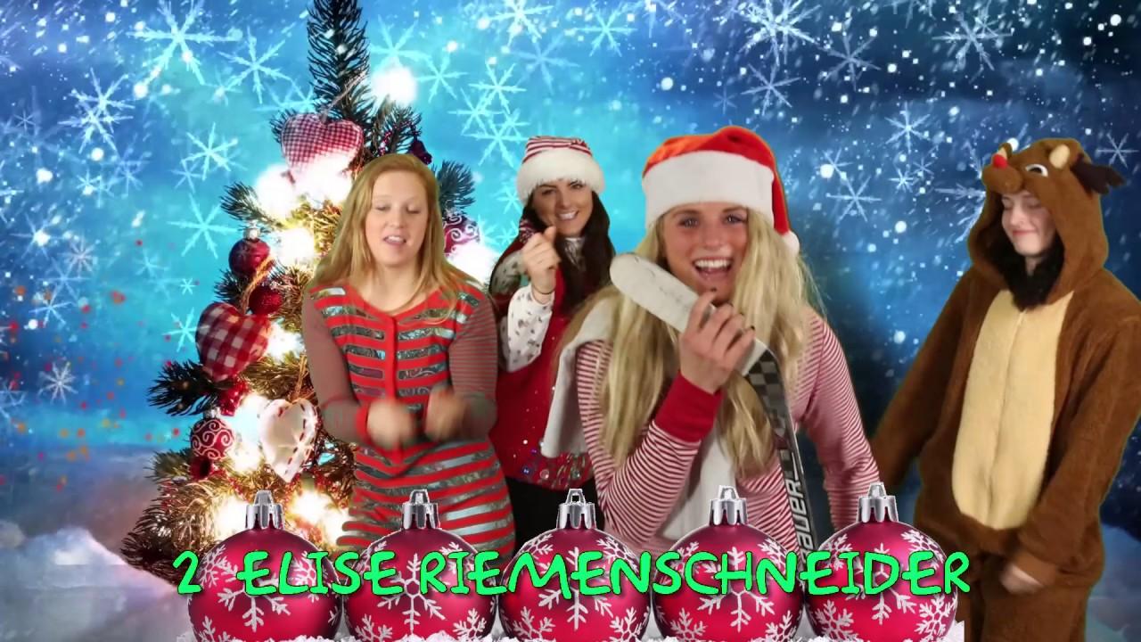Ohio State Women\'s Hockey: Rockin\' Around the Christmas Tree - YouTube