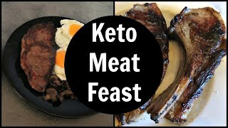 Keto Meat Feast Full Day Of Eating