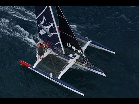 Maserati Multi70 Competes in the 2017 Transpacific Yacht Race