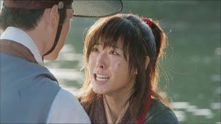 "[Hwajung] 화정 10회 - Seo Kang-joon says soory to Lee Youn-hee 이연희 눈물 바라보는 서강준, ""미안하오""20150512"
