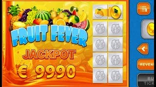 Tickets à Gratter FRUIT FEVER - Grattage de jeux en ligne.
