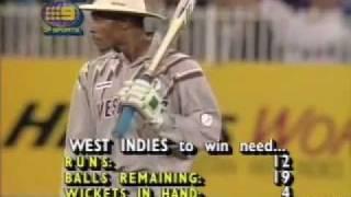 Mark Waugh 57 & 5/24 v West Indies 1992/93