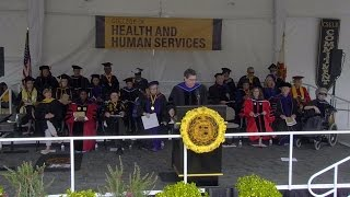 2016 CSULB Commencement - College of Health & Human Services Ceremony 1