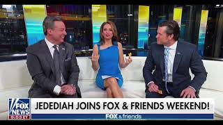"""Jedediah Bila, Co-host Of The Weekend Edition Of """"Fox & Friends,"""" Reveals COVID-19 Diagnosis"""