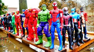 93 SUPERHEROES! Spider-Man, Hulk, Superman, Marvel Avengers, DC Justice League, Star Wars, dinosaurs