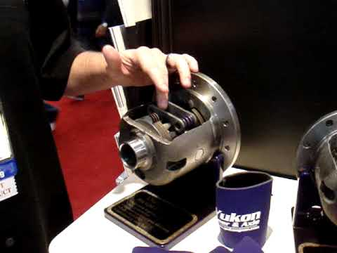 Yukon Dura Grip positraction at the 2009 SEMA Convention in Las Vegas -  YouTube