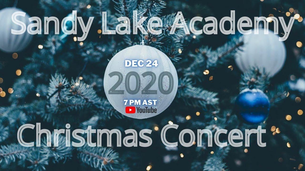 Announcement: Christmas Concert 2020