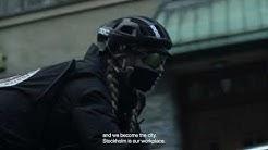Ryska Postens Bike Messenger in Stockholm (EN)