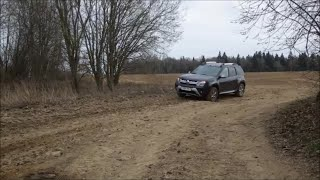 Renault Duster: Cordiant OffRoad 215/65 R16 Тест
