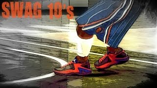 nba 2k12 my player signature shoe creation of the swag 10 s   endorsement   commercial