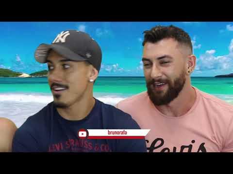 O QUE TEM NO SACO?! 🎅😈 Game de Natal ft. Bruno Rafa - Põe Na Roda