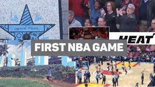 My FIRST NBA Game !!!!!! || Rania Sulemange #56