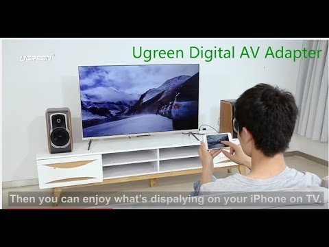 How To Connect Your Android/IOS Phone/Tablet/PC To TV Using Ugreen Digital AV Adapter