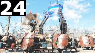Fallout 4 Walkthrough Gameplay Part 24 - SIGNAL INTERCEPTOR Teleport To Institute Finding Shaun