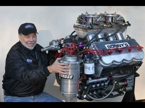 Sonnys Racing People Of The Worlds First 1000ci Drag Race Engine