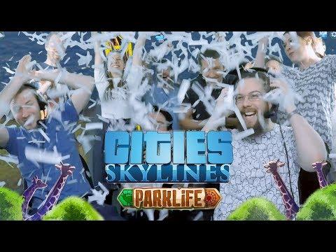 Cities: Skylines - Parklife Release Stream!