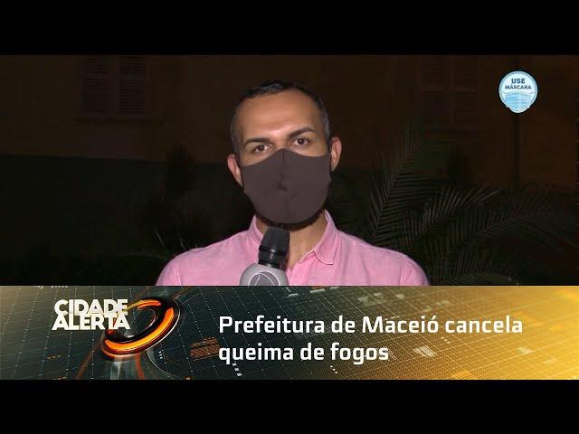Prefeitura de Maceió cancela queima de fogos na Orla na virada do ano