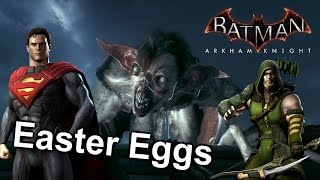 Batman Arkham Knight | 9 Easter Eggs [HD ITA]