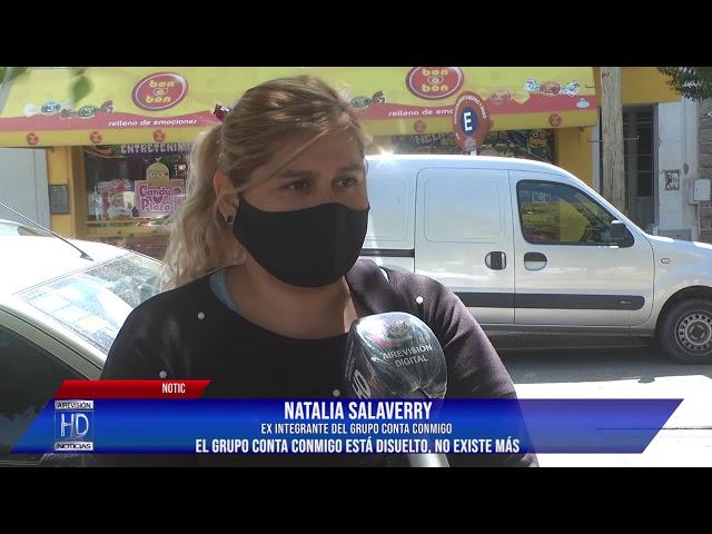 Natalia Salaverry Ex integrante del grupo Conta Conmigo