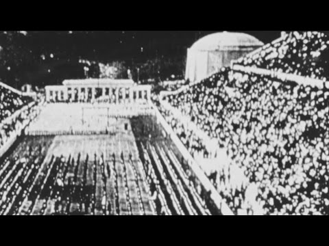 "Very early film of The Olympics - ""Athens 1896"""