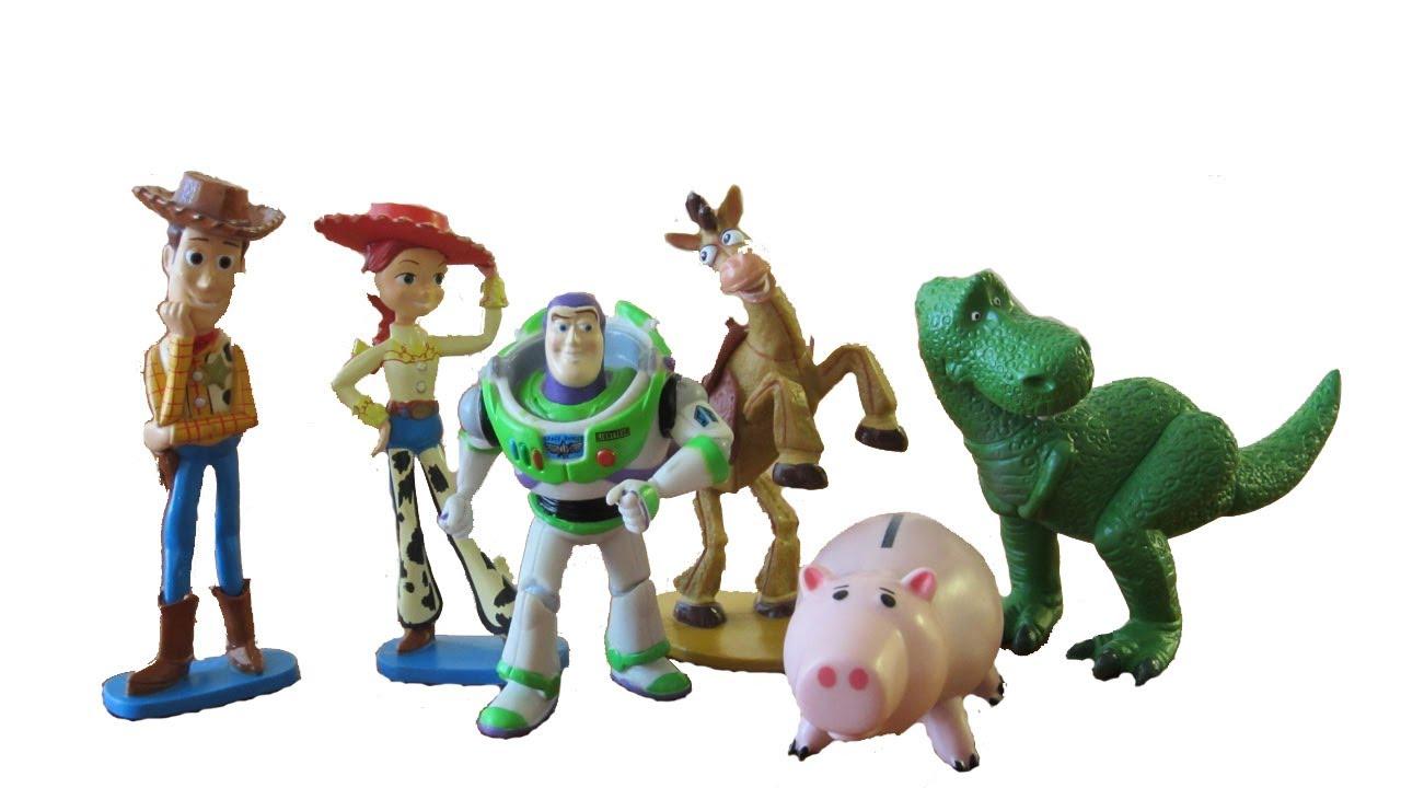 disney pixar toy story figurine set youtube. Black Bedroom Furniture Sets. Home Design Ideas