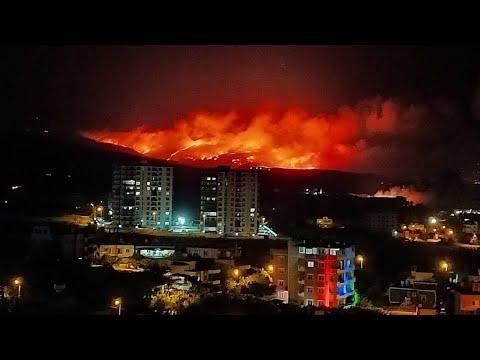 Массовые пожары испепеляют Турцию