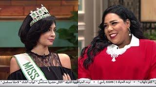 شاهد.. شيماء سيف توجه سؤالا كوميديا لملكة جمال السياحة
