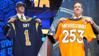"10 Greatest ""Mr. Irrelevants"" In NFL DRAFT History"