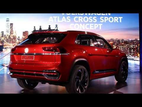 Volkswagen Atlas Cross Sport Concept Previews New Five Seat SUV