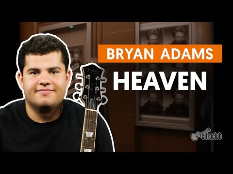 Heaven - Bryan Adams  de guitarra