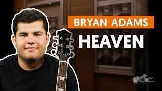 Heaven - Bryan Adams (aula de guitarra)