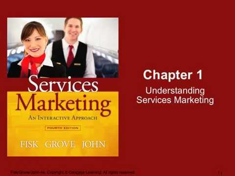 Week 1 Chapter 1-Introduction to Services Marketing