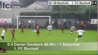 1. Spieltag: SC 26 Bocholt - 1. FC Bocholt 0:4 (0:0)