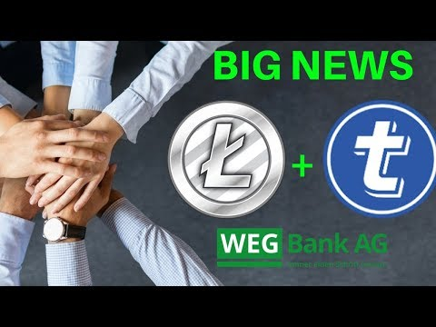 BIG NEWS: Litecoin + TokenPay Partnership and 9.9% stake in WEG Bank - Today's Crypto News
