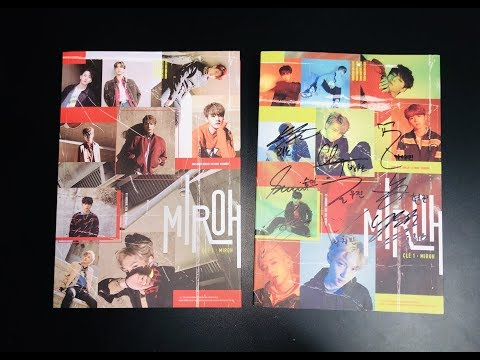 UNBOXING ♡ STRAY KIDS [MWAVE Signed + ALL MEMBERS Signed Clé 1: MIROH Albums]