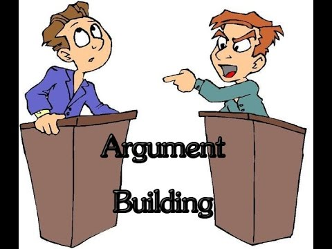 how to argue in a debate