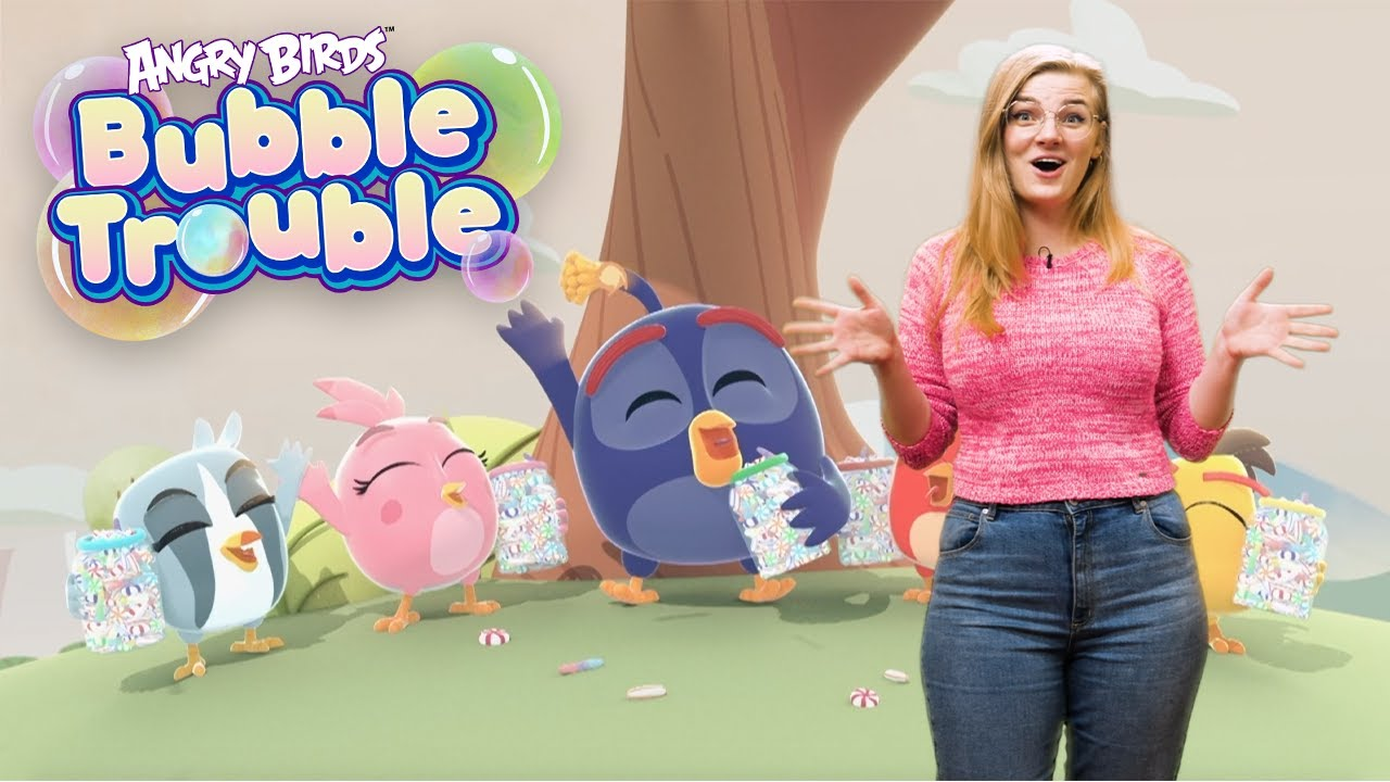 Angry Birds Bubble Trouble | New Series Trailer!