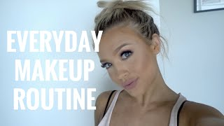 One of Tammy Hembrow's most viewed videos: EVERYDAY MAKEUP ROUTINE